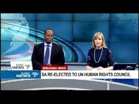South Africa elected to UN Human Rights Council