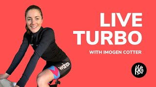 LIVE TURBO SESSION with Imogen Cotter -  Interactive cycling workout