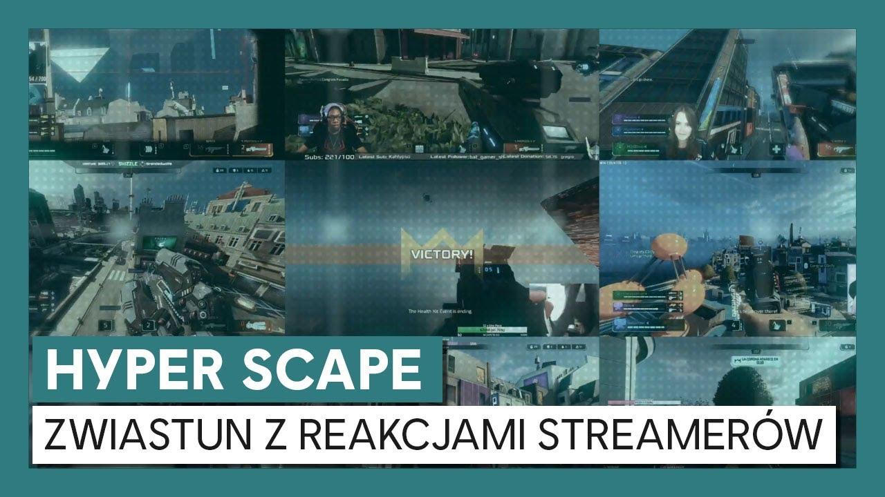 Hyper Scape: Zwiastyn z Reakcjami Streamerów