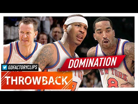 Carmelo Anthony, J.R. Smith & Steve Novak EPIC Highlights vs Celtics (2012.04.17) - BINGO!