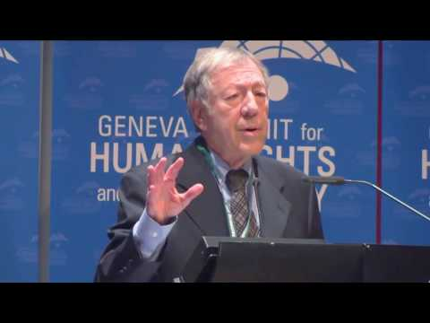 Irwin Cotler at Geneva Summit 2016