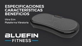 Bluefin Fitness Plataforma Vibratoria de Masaje con Motor Silencioso de 1000w
