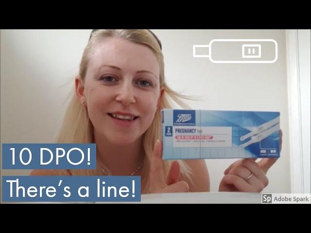 10 dpo BFP or evap line? Download video - get video youtube