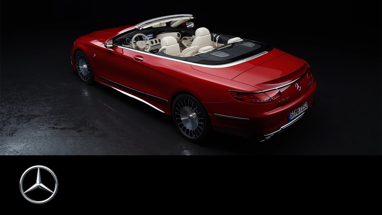 Mercedes-Maybach S 650 Cabriolet – Trailer – Mercedes-Benz original