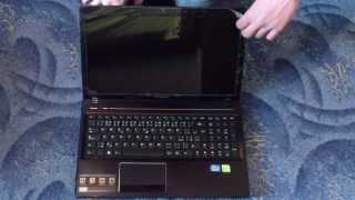 Unboxing - Notebook Lenovo G580