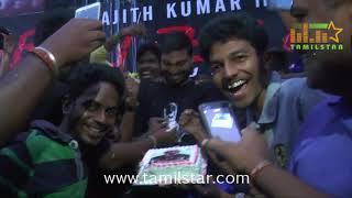 Thala Ajith Fans Celebrates Vivegam Movie Release