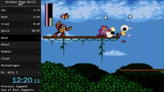 Mega Man: The Wily Wars (MM2) ロックマンメガワールド 岩男2 speedrun in 36:51