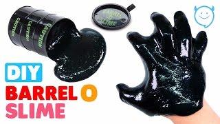 DIY Barrel O Slime with Shampoo - MonsterKids