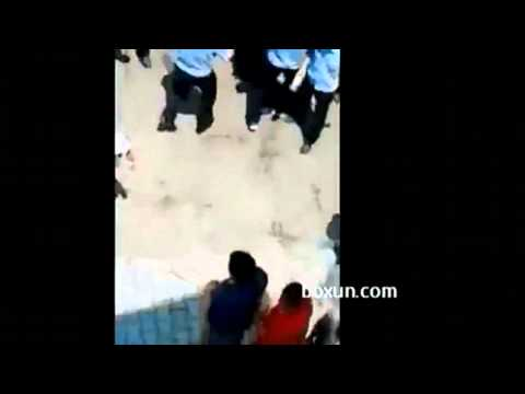 Police Gang Beating Peaceful Pollution Protesters in Qidong, China