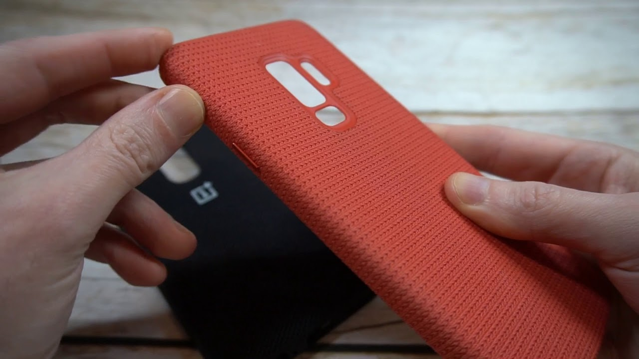 premium selection dd37f 253c9 Official OnePlus 6 Nylon Bumper Case Unboxing and Review