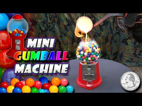 Molten Copper vs Mini Gum Ball Machine