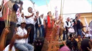 RIGOBERTA MENCHU Y ADELA DE TORREBIARTE VISITAN SAN JUAN SACATEPEQUEZ