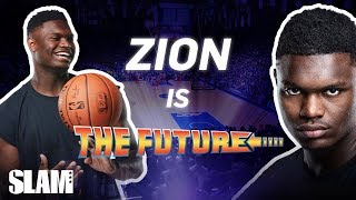 Zion Williamson: Duke Campus Legend ➡️ NO. 1 PICK DREAMS | SLAM Cover Shoots Video