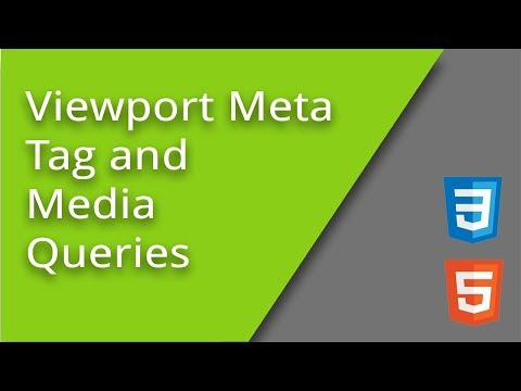 Viewport Meta Tag And Media Queries