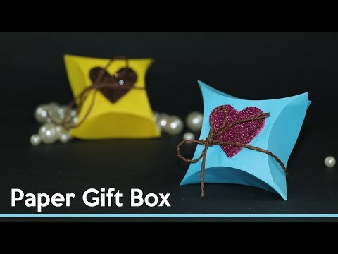 DIY Gift Wrapping Ideas - How To Make Small Gift Box Out of Paper
