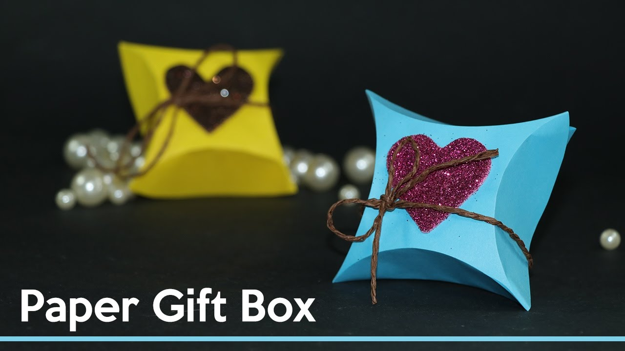 Diy gift wrapping ideas how to make small gift box out - How to make a gift with paper ...