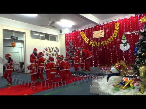 Bài hát Jingle bell ( các bé trường mầm non Sao Khuê )