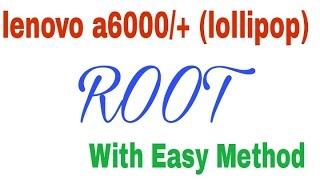 Lenovo A6000 Flash File Download