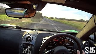McLaren 650S Spider - Point of View Drive