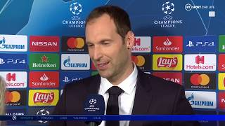 Petr Cech offers his thoughts on Chelsea's Champions League draw