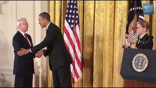 Jan Vilcek Receives National Medal from President Obama