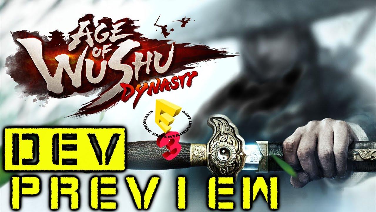 Видео Age of Wushu Dynasty - E3 Dev Preview