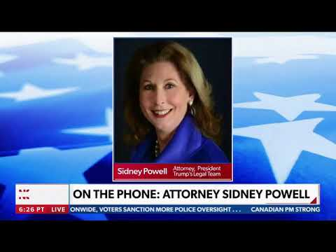 Sidney Powell: Georgia The First State I Blow Up, It Will Be Biblical.. 2020-11-22