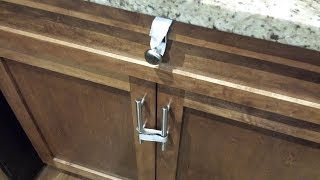 Childproof Kitchen Cabinets and Drawers - No Drilling DIY