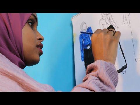 شاهد : 'صنع في الصومال' مصممو أزياء شباب يشقون طريقهم على الساحة الصومالية
