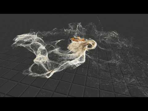 Real Time 3D Fluid and Particle Simulation and Rendering