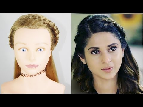 Hairstyle For Open Hair | Zoya Hairstyle | Braid Hairstyle | Hair style girl thumbnail