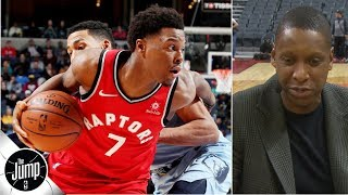 Raptors GM Masai Ujiri opens up about Kyle Lowry relationship, 2019 expectations | The Jump