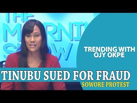 Tinubu Sued For Fraud + Sowore Joins Protest For #EndSars - Trending W/OjyOkpe