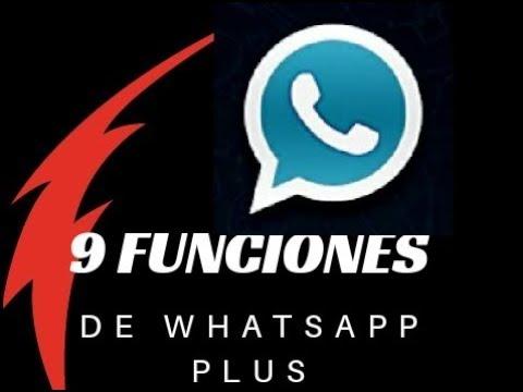 9 FUNCIONES/VENTAJAS DE WHATSAPP PLUS/WEX TUTORIALES...