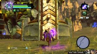 Darksiders 2 - The Guardian fight
