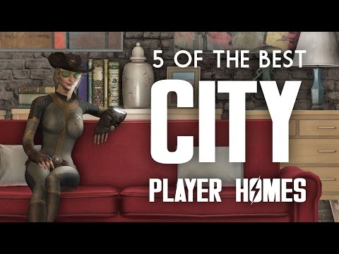 5 of the Best Downtown City Player Homes - Fallout 4 Xbox 1,