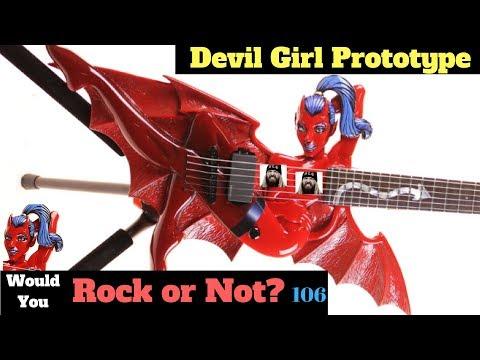 """Nudity"" and Demons Ahead! 2003 ESP LTD Devil Girl Guitars | Would You Rock or Not? 106"