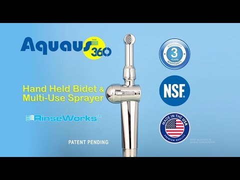 Aquaus 360 Bidet Video