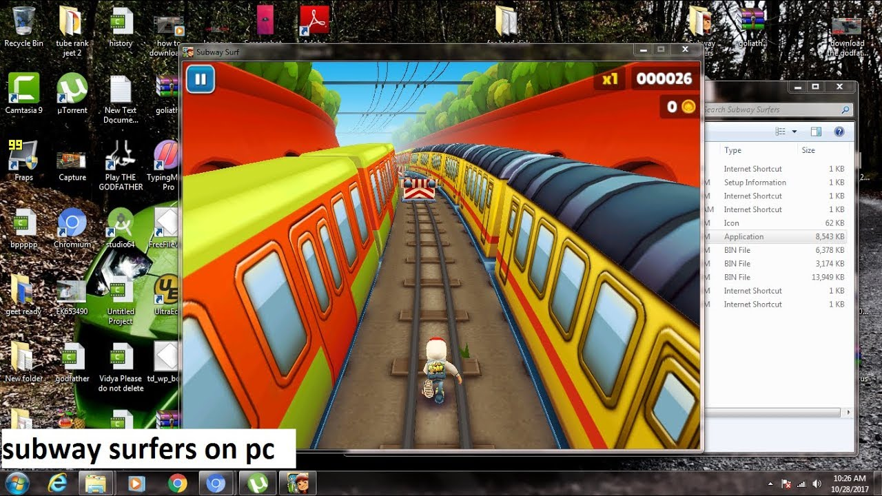 How to download and install subway surfers on pc free youtube.
