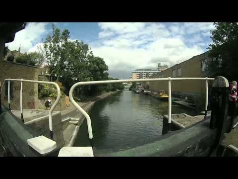 Grand Union Canal through London