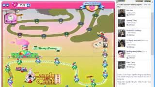 Hướng dẫn hack Candy Crush Saga Facebook - sưu tầm