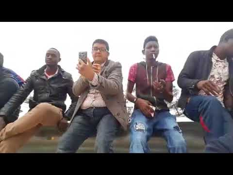 Football game Migrants in Libya, Tripoli 2018 video made by Tripoli Live