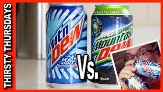 Mountain Dew Taste Off - White Out vs. Voltage
