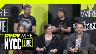 Rooster Teeth Animation's RWBY Cast On Volume 6 | NYCC 2018 | SYFY WIRE