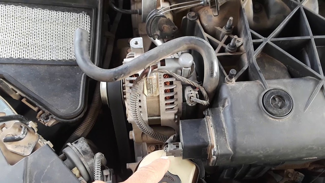 Removing Intake Manifold On 2004 Chrysler Pacifica