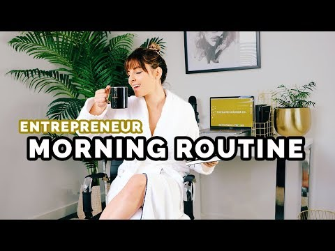 Morning Routine Of A Successful Female Entrepreneur