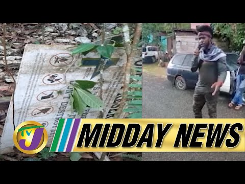 Maroons & Cops in Standoff | PAHO to the Rescue | TVJ Midday News - August 12 2021