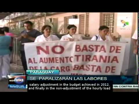 Health strike in Paraguay amid dengue crisis