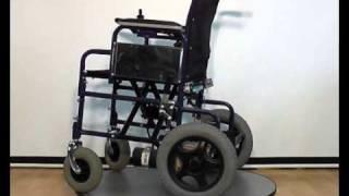 Инвалидная коляска с электроприводом LK 1008 / FS 110A-46(ширина сидения -- 46 см стальная рама с полимерным покрытием съемные подножки, регулируемые по оси складыва..., 2011-03-18T13:33:23.000Z)