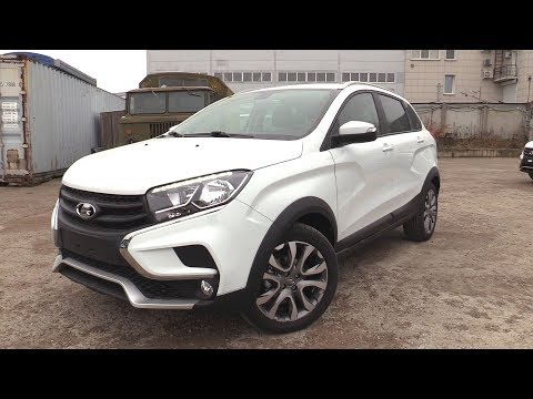 2018 LADA XRAY CROSS 1.8L 122HP. Start Up, Engine, and In Depth Tour.